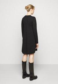 Repeat - DRESS - Jumper dress - dark grey - 2