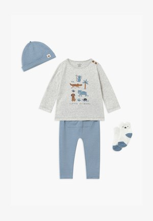 SET - Bonnet - blue