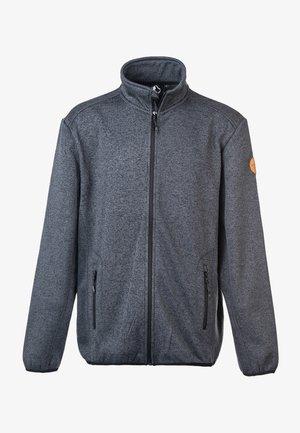 SAMPTON - Fleece jacket - 1011 dark grey melange