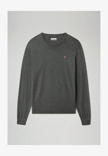 DECATUR - Jumper - dark grey melange