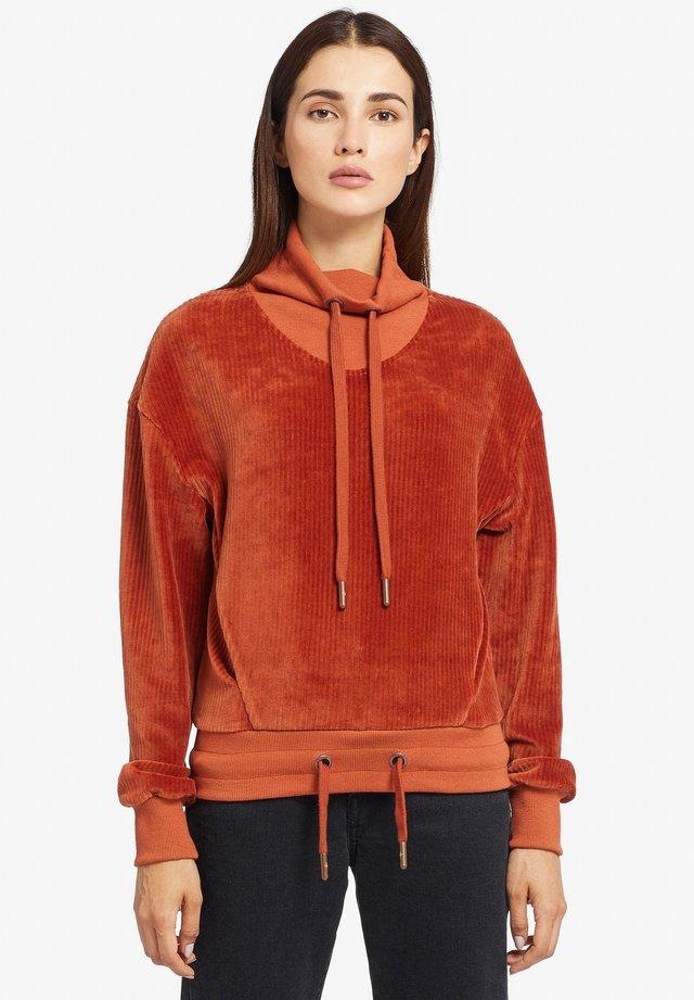 HELEN - Sweater - orange