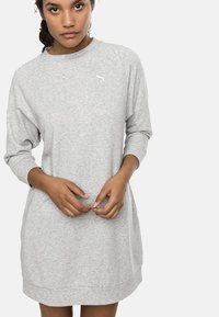 Puma - Jersey dress - light gray heather - 0