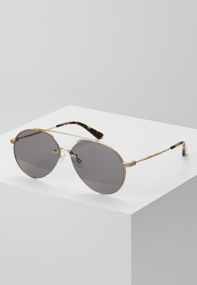 Lunettes de soleil - gold-coloured/smoke