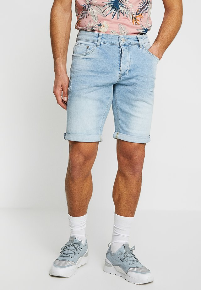 JASON SUMMER  - Denim shorts - light blue denim