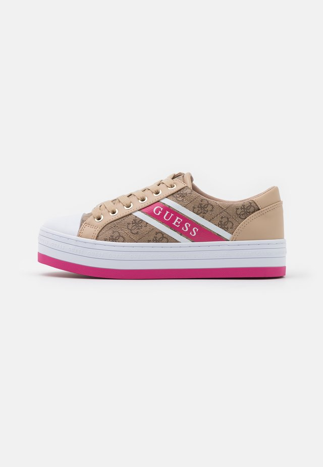 BARONA - Sneakers laag - beige/light brown