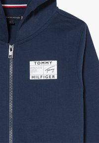 Tommy Hilfiger - REFLECTIVE GRAPHIC FULL ZIP - Zip-up hoodie - blue - 4