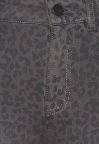 TOM TAILOR - ALEXA SLIM PRINTED - Slim fit jeans - dark grey - 2