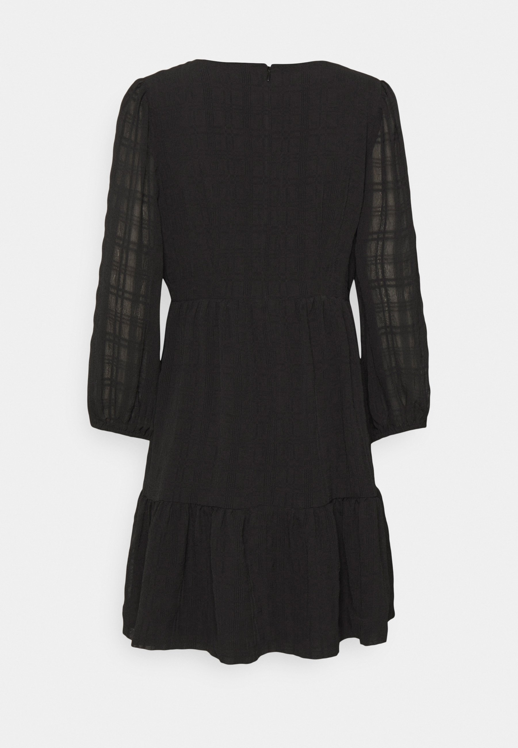 Women EASY DRESS IN TEXTURED PLAID - Day dress
