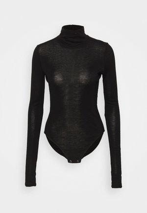 QUEENS HIGH NECK - Topper langermet - black