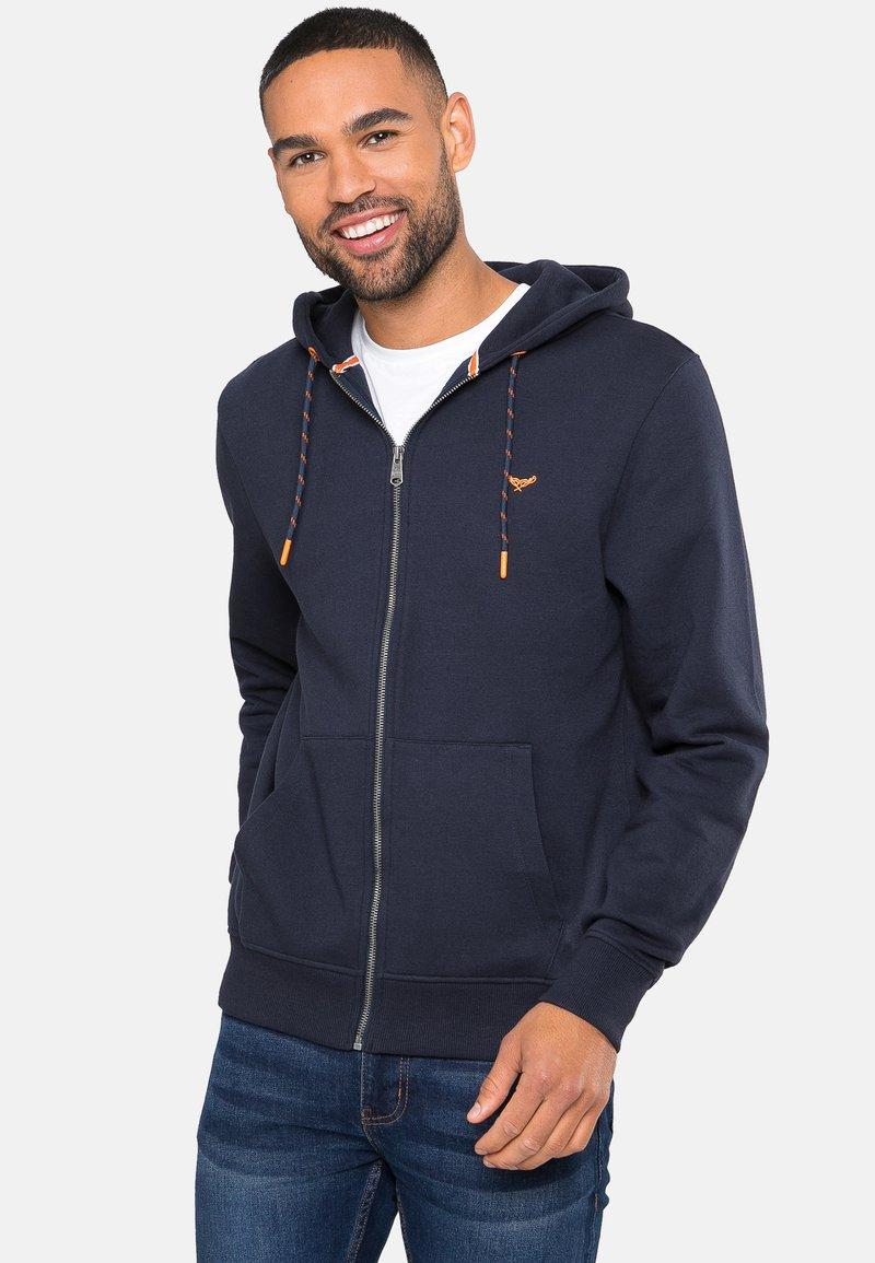 Threadbare - TANGERINE - Zip-up hoodie - blau