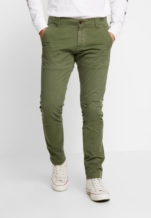 SCANTON WASHED PANT - Chinos - cypress
