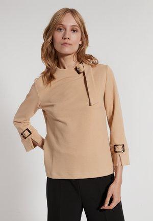 ELDRA - T-shirt à manches longues - beige