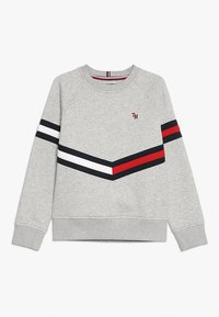 Tommy Hilfiger - ESSENTIAL FLAG CREW - Sweatshirts - grey - 0