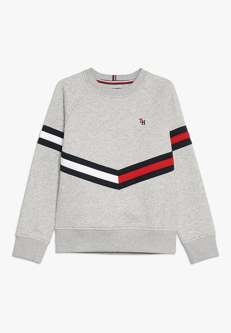 Tommy Hilfiger - ESSENTIAL FLAG CREW - Sweatshirts - grey