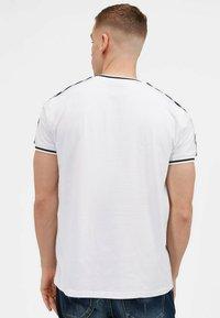 Kings Will Dream - DENSON - Print T-shirt - white navy - 6