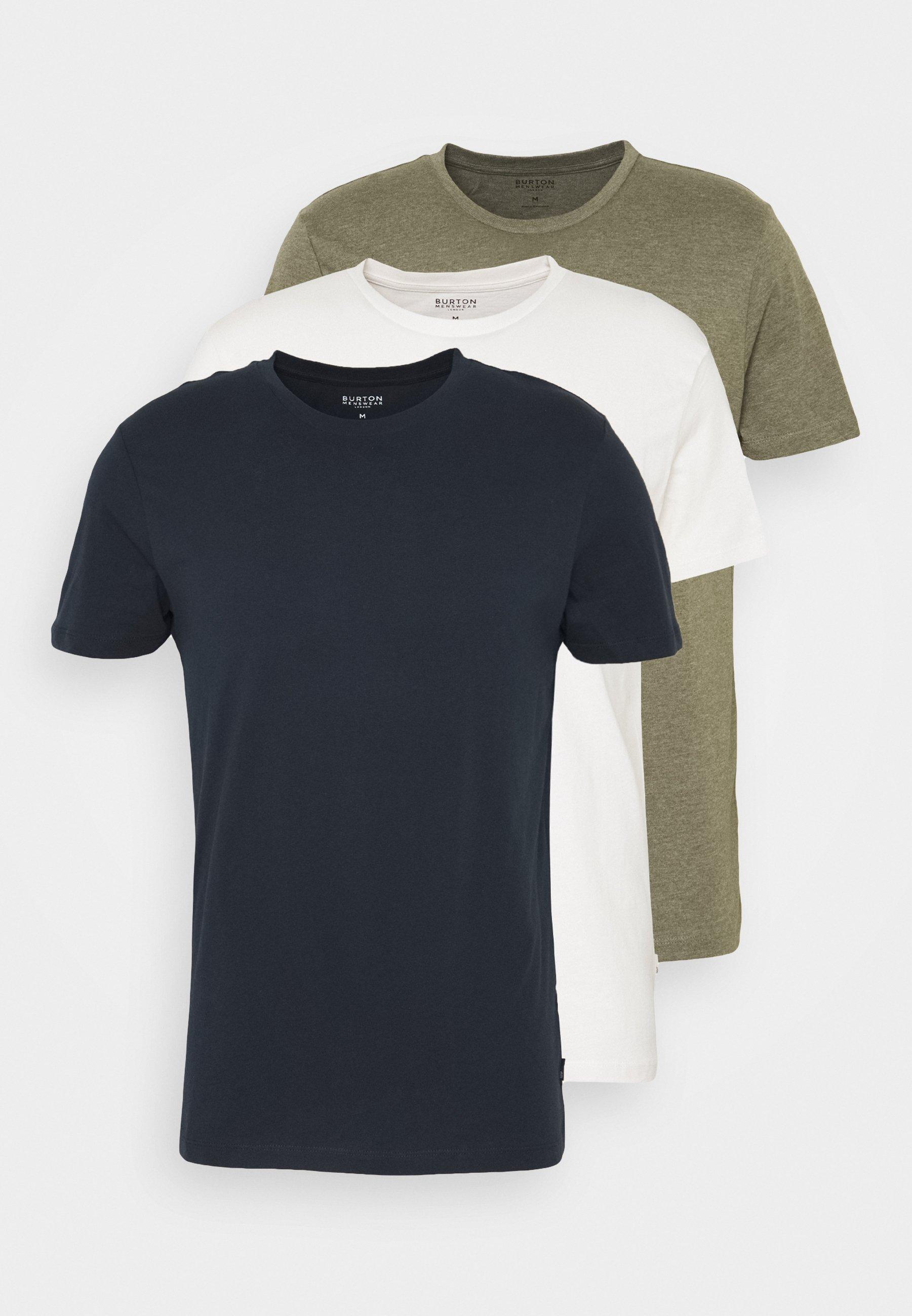 Herrer SHORT SLEEVE CREW 3 PACK - T-shirts basic