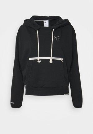 STANDARD ISSUE HOODIE - Sweatshirt - black/pale ivory