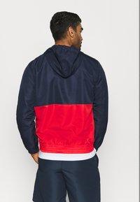 sergio tacchini - BELUSHI TRACKTOP - Training jacket - navy/red - 2