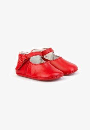 Zapatos de bebé - rojo