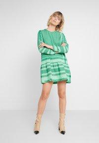 CECILIE copenhagen - DRESS - Day dress - green - 1