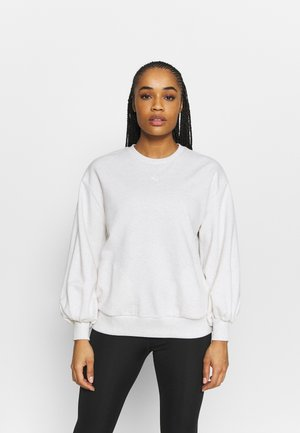 HER CREW - Sudadera - white heather