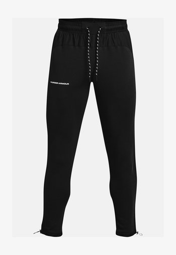 RIVAL TERRY  - Tracksuit bottoms - black