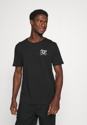 THERAPY BIKE EMBRO - Basic T-shirt - Black