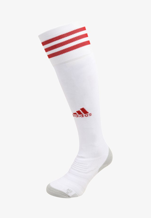 CLIMACOOL TECHFIT FOOTBALL KNEE SOCKS - Knee high socks - white/power red