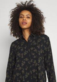 b.young - BYJOSA LONG - Button-down blouse - black - 3