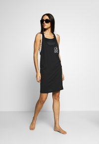 Calvin Klein Swimwear - TANK DRESS - Beach accessory - black - 1