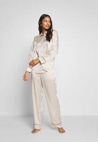 ASCENO - THE LONDON BOTTOM - Pantaloni del pigiama - cream - 1