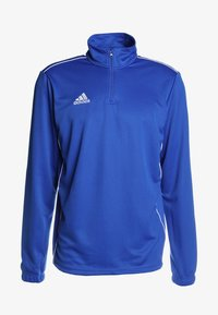 adidas Performance - CORE 18 TRAINING TOP - Sports shirt - boblue/white - 4
