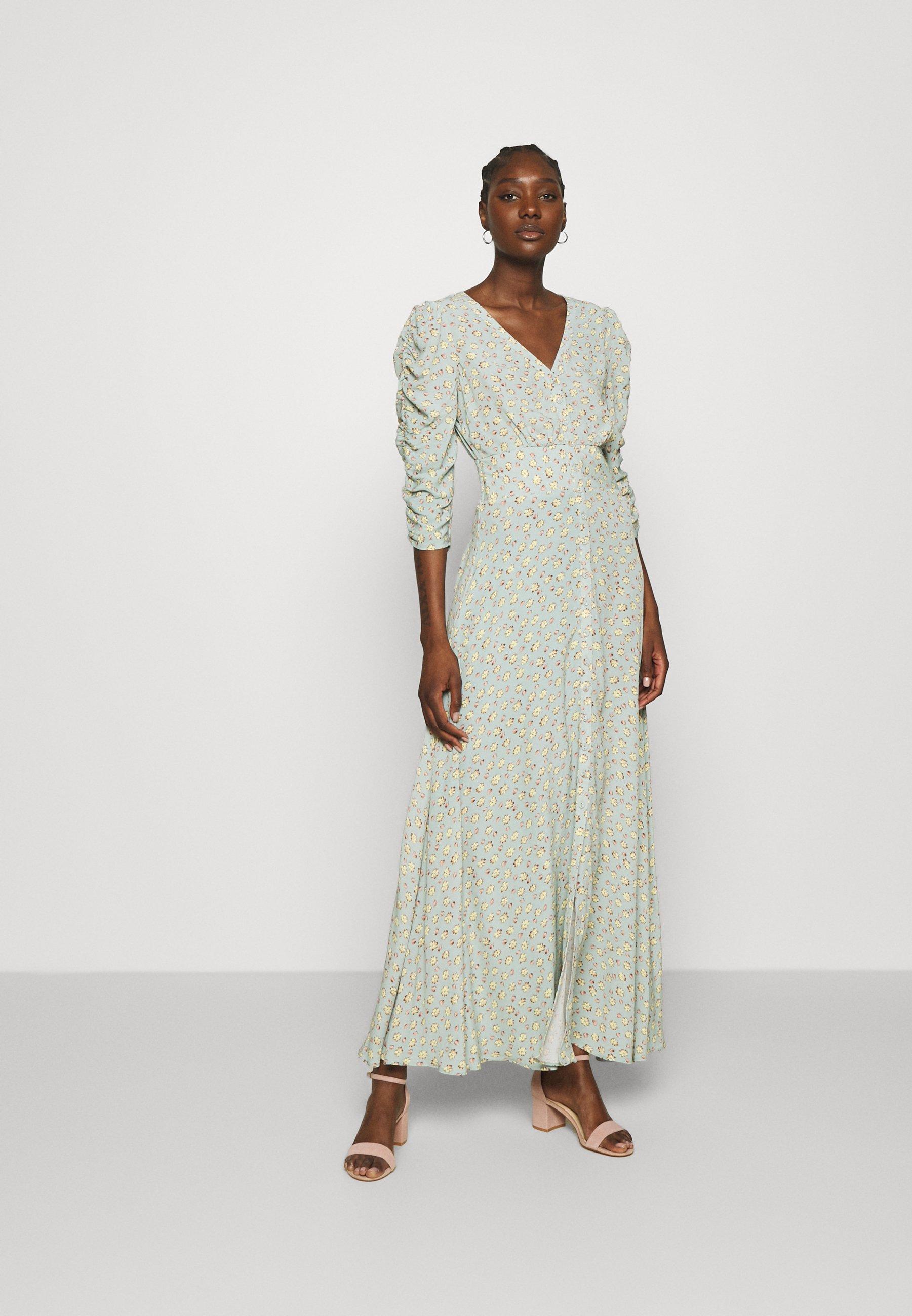 Femme SUMMER ROUCHING DRESS - Robe longue