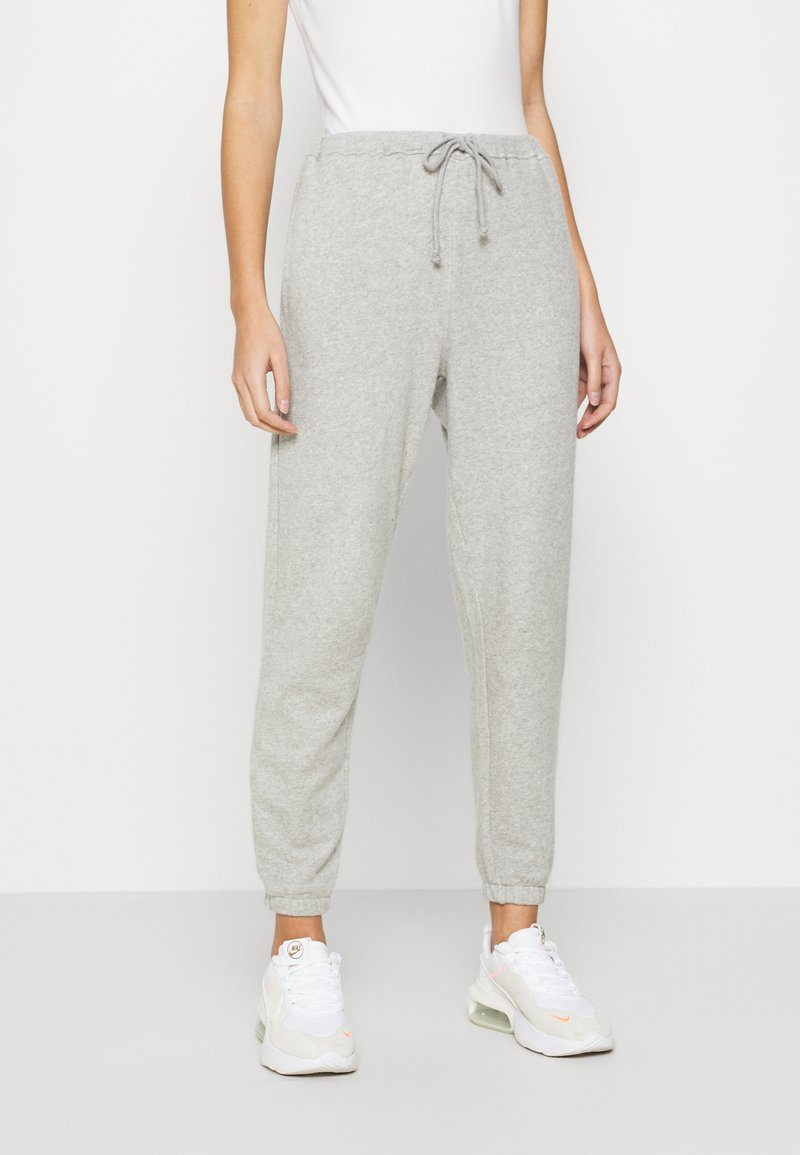 American Vintage - NEAFORD - Tracksuit bottoms - gris chine