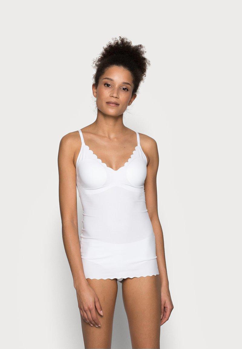 Skiny - DAMEN SPAGHETTI - Undershirt - white