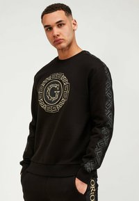 Glorious Gangsta - Sweatshirt - black/gold - 0