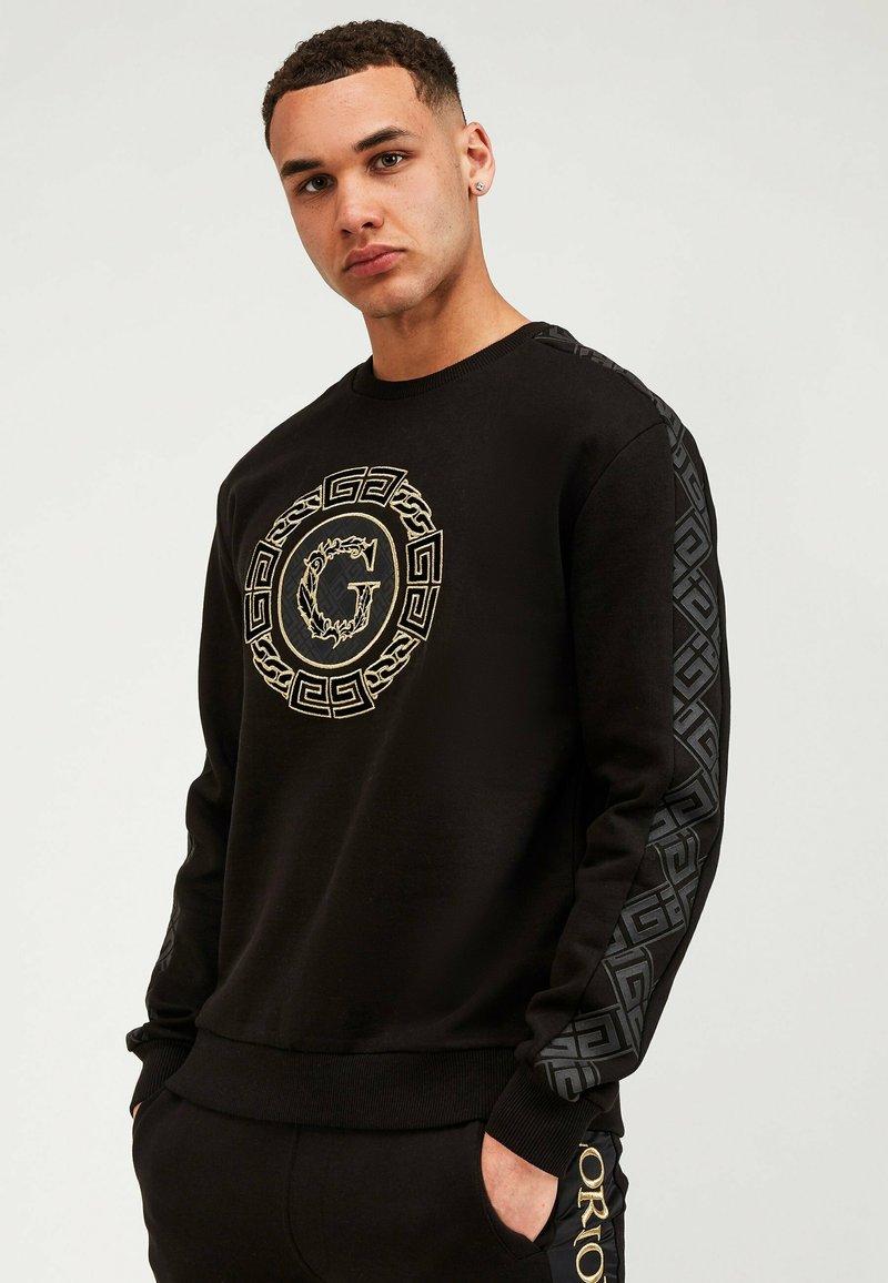 Glorious Gangsta - Sweatshirt - black/gold