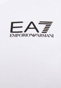 EA7 Emporio Armani - T-Shirt print - white/black - 5