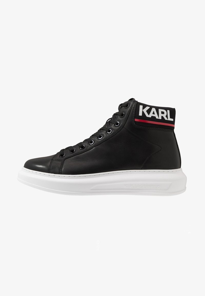 KARL LAGERFELD - KAPRI MID  - High-top trainers - black