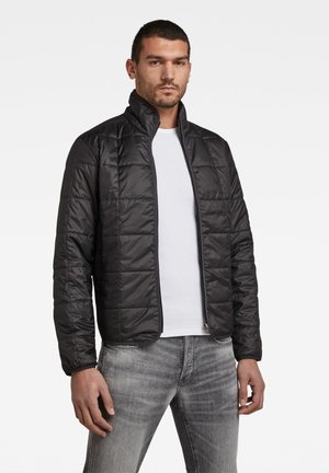 LIGHTWEIGHT QUILTED - Light jacket - dk black