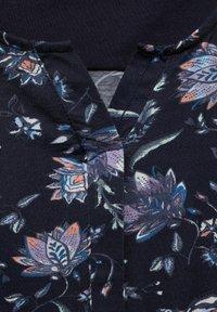 Cecil - FLOWER-PRINT - Blouse - blau - 3
