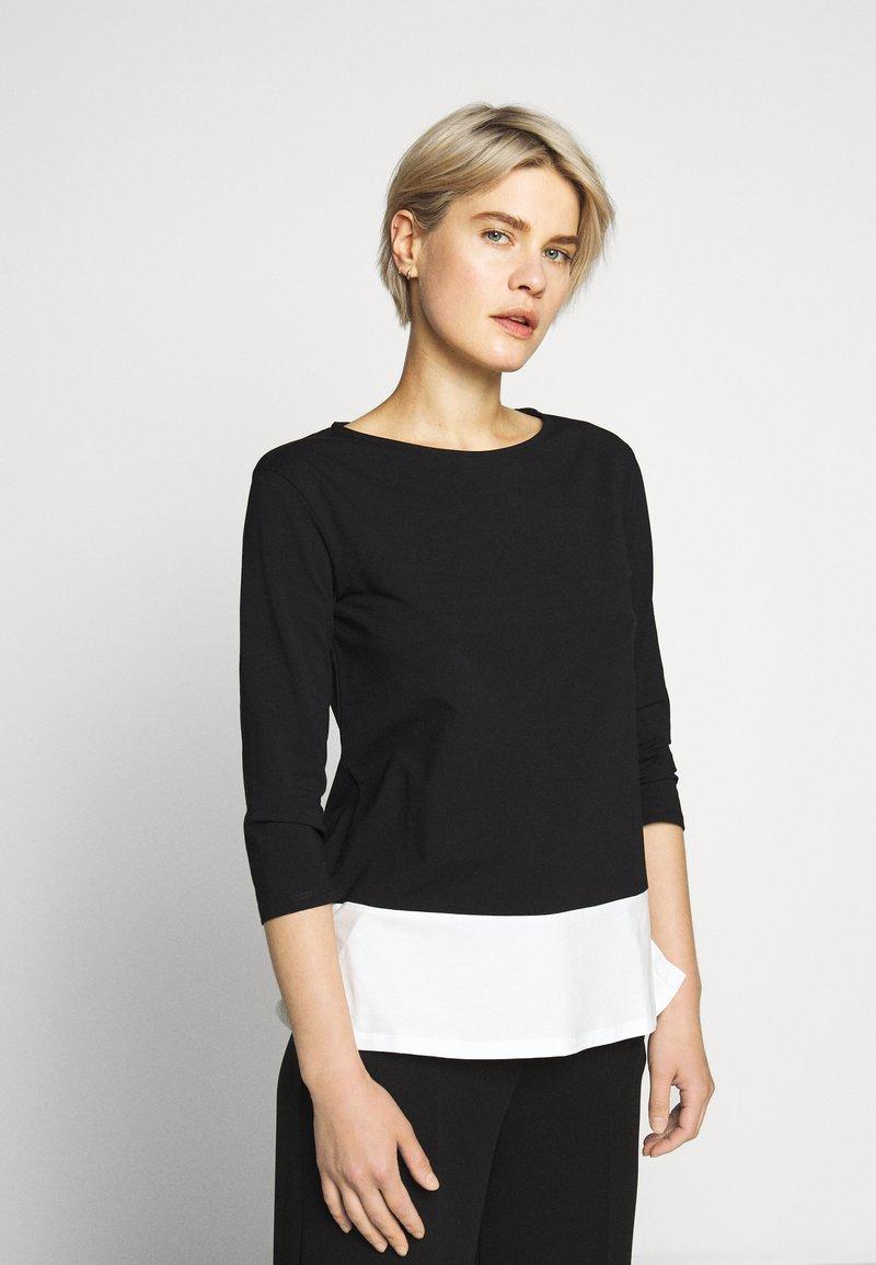 WEEKEND MaxMara - MULTIA - Long sleeved top - schwarz