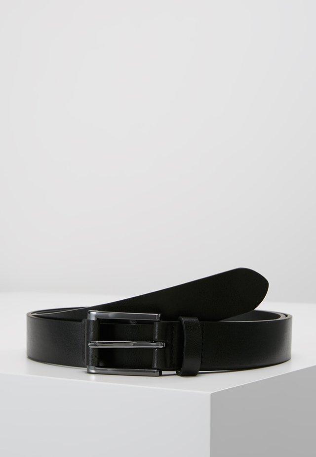 TAB DETAIL - Formální pásek - black