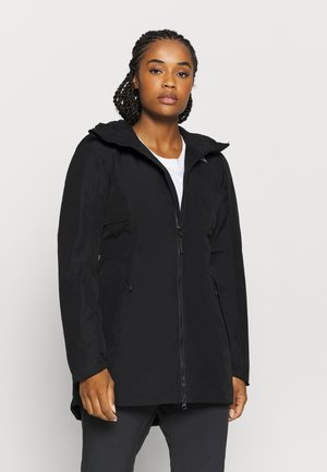 HIKESTELLER INSULATED - Winter coat - tnf black