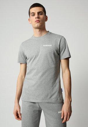 S SURF - T-shirt print - medium grey melange