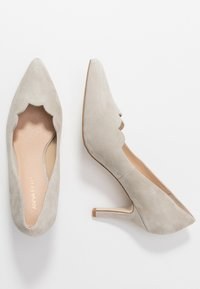 Anna Field - LEATHER - Klassieke pumps - grey - 3