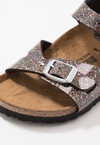 Birkenstock - RIO - Sandals - black/multicolor - 2