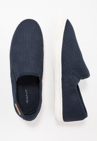 GANT - POOLRIDE - Mocasines - marine - 1