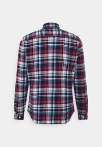 Selected Homme - SLHREGZANE SHIRT CHECK  - Shirt - brick red - 9