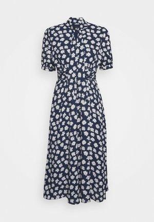 CONWAY DRESS - Shirt dress - navy/ivory